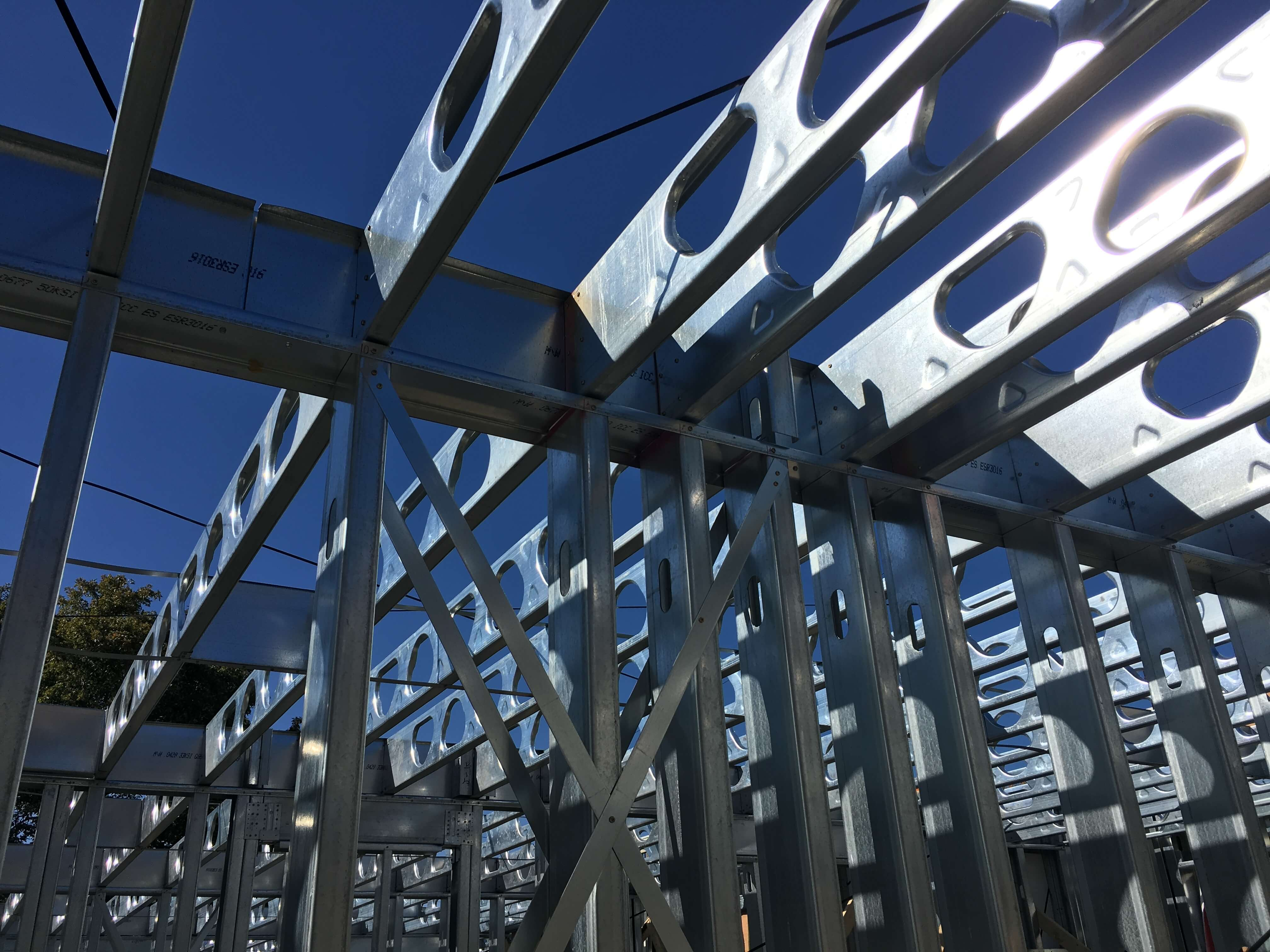 Cold Formed Steel Framing In A Structural Application 3f