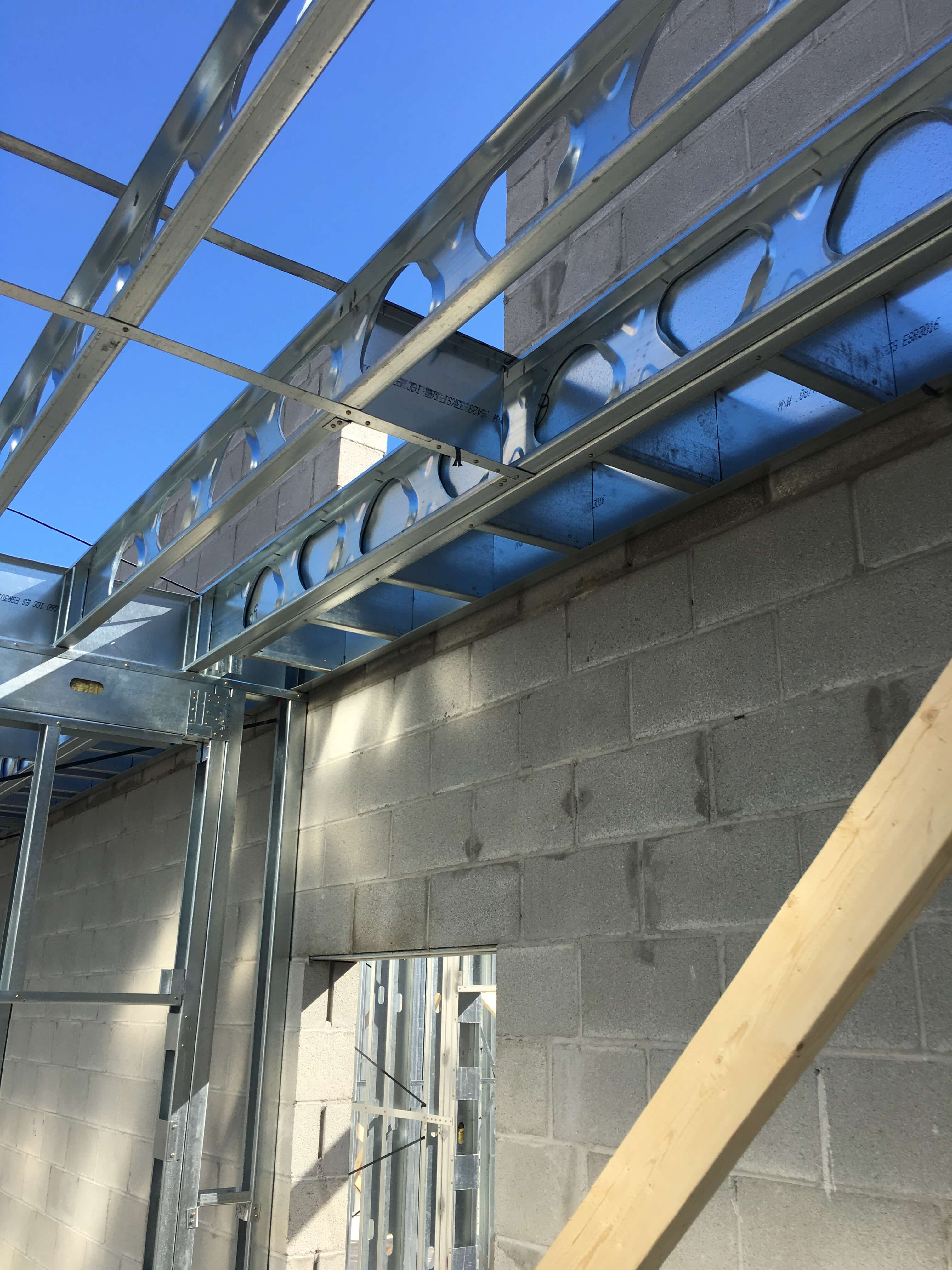 Cold Formed Steel Framing in a Structural Application - 3F